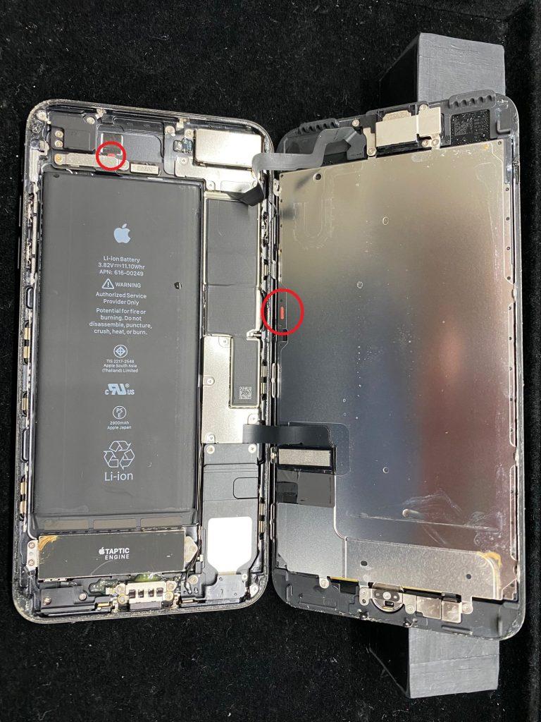 松本市iPhone水没修理