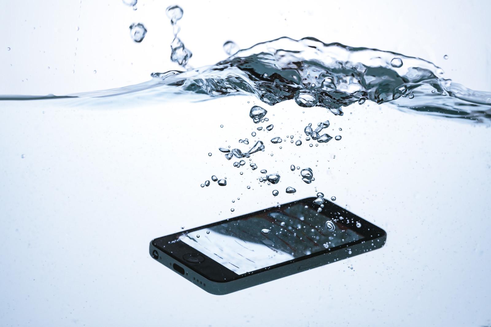iPhoneの水没について